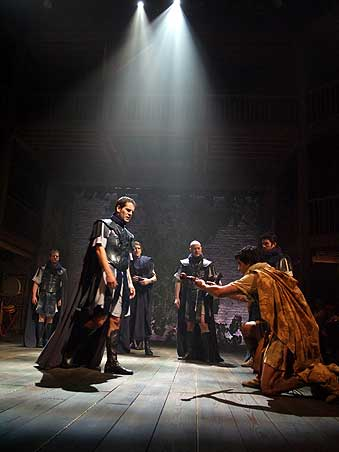 John as Octavius Caesar in Antony and Cleopatra